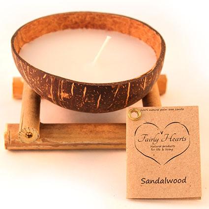 meditatie kaars sandalwood