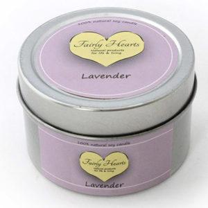 Lavendel geurkaars